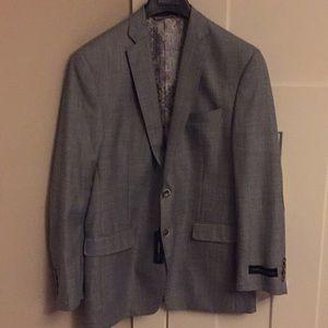 Van Heusen light gray sportscoat with elbow patch